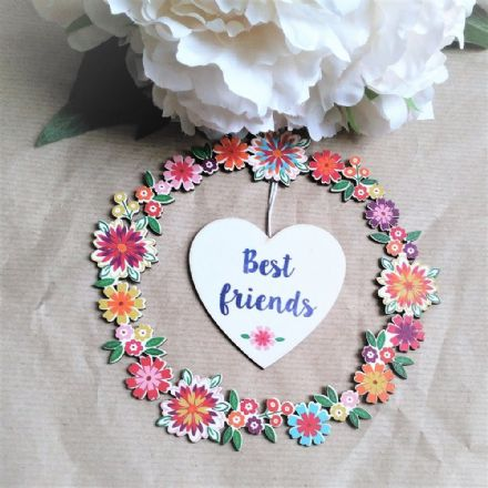 50% OFF Best Friends Flower Garland & Heart